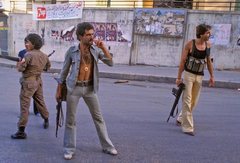 Христианская милиция. Бейрут, 1978 год