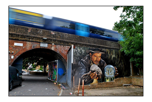 LONDON STREET ART by JXC DESIGN