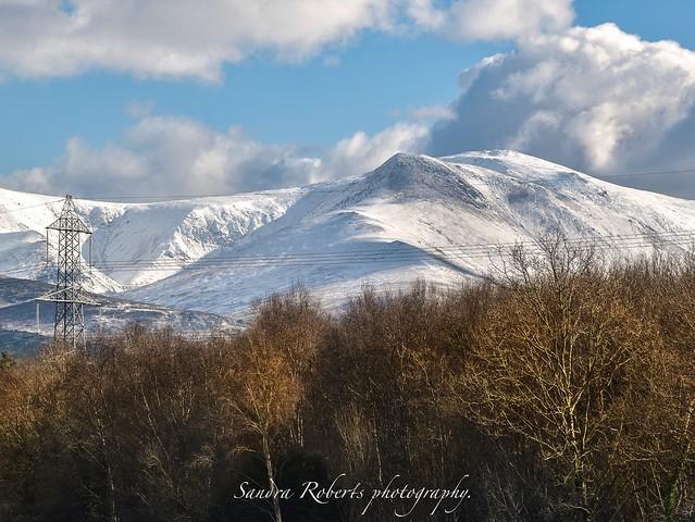 Caerneddau mountains North Wales.