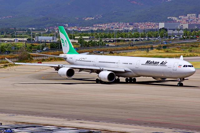 EP-MME A340-642 Mahan Air  Barcelona El Prat 06-07-2017