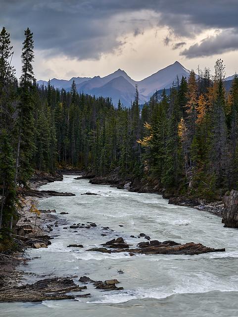 Kicking Horse River, Mount King