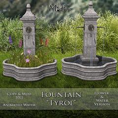 *NEW* Fountain Tyrol
