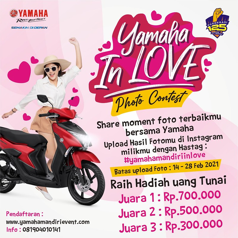 Photo contest Yamaha In Love