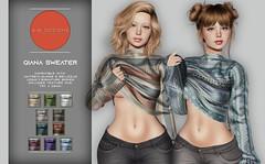 KiB Designs - Qiana Sweater @101L Event 19th feb.