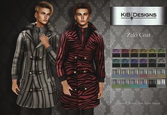 KiB Designs - Zeki Coat @Sense Event 18th Feb