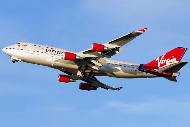 Virgin Atlantic | Boeing 747-400 | G-VTOP | London Heathrow