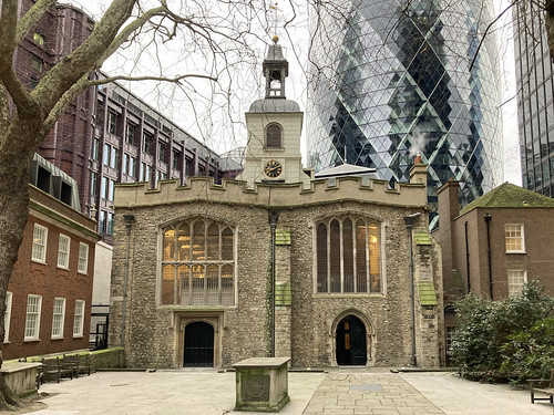 St Helen Bishopsgate | by diamond geezer