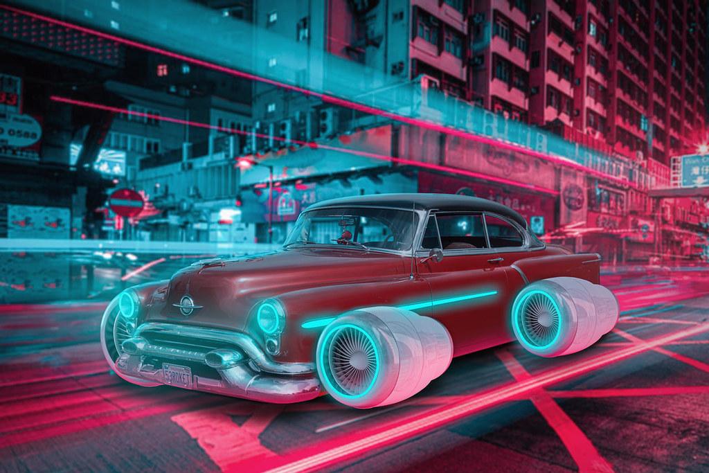City Cyberpunk    Big Art