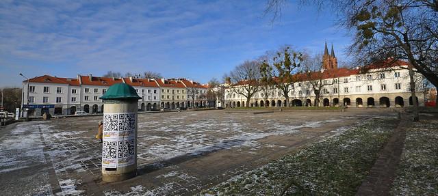 Old Market Square in Łódź