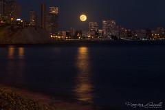 San Juan de Alicante y la luna llena