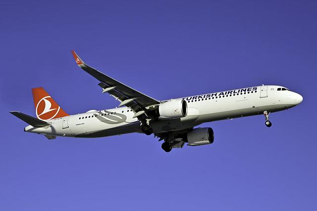 TC-LTB A321-271NX cn 10125 THY 210213 Schiphol 1001
