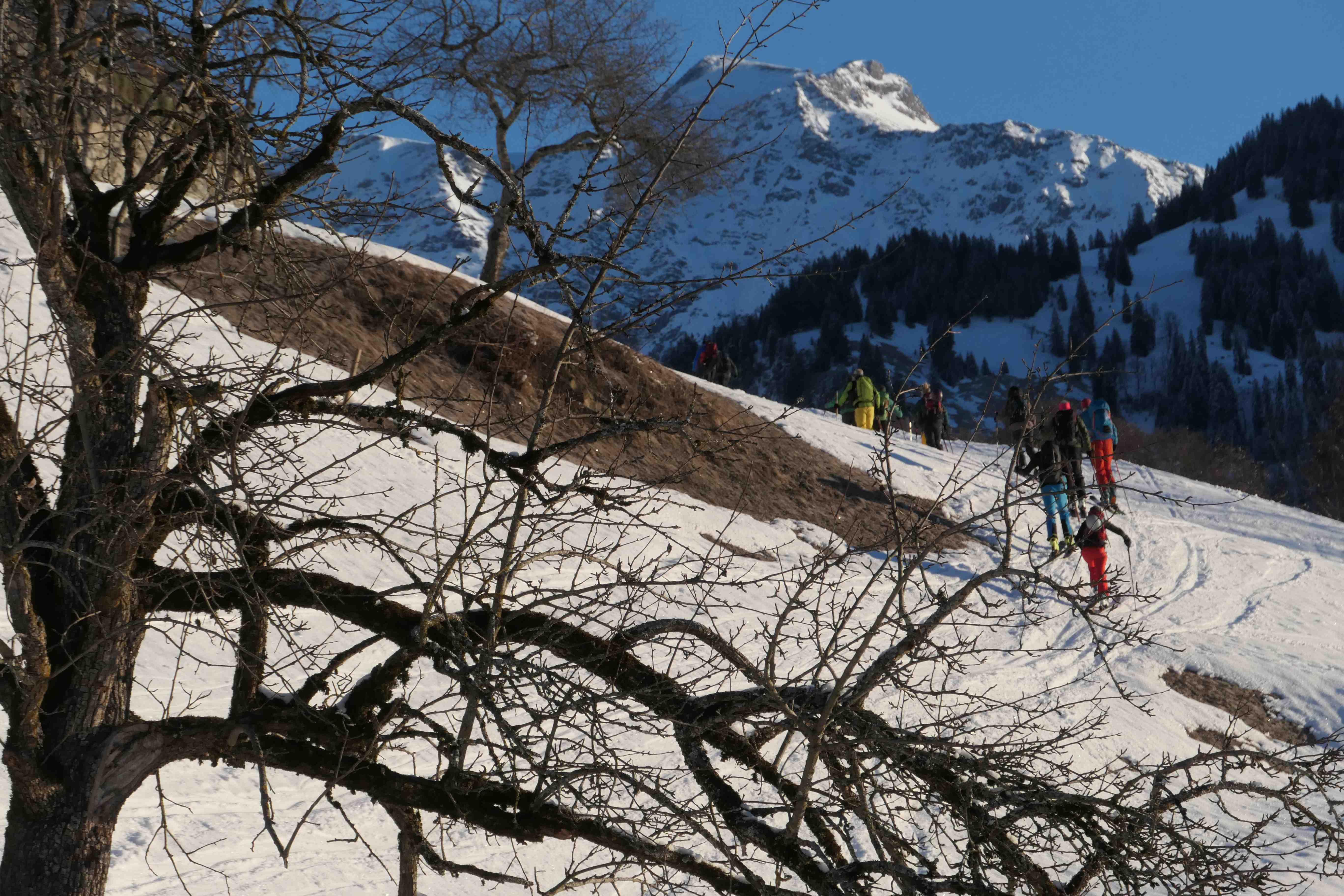 Skitour Vilan 2375m (1400hm)