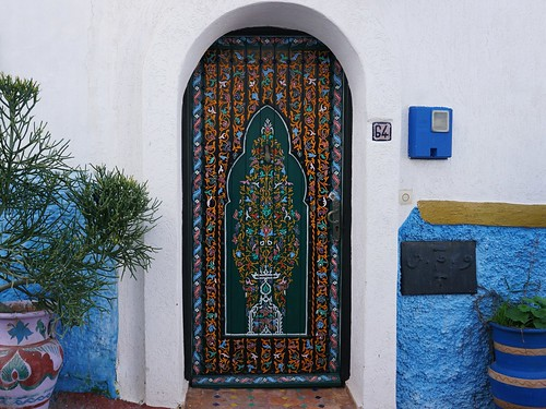 Rabat Kasbah door | by leftbanked