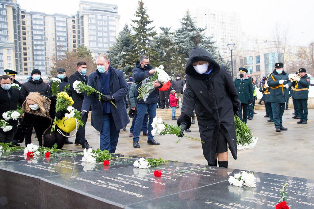 15.02.2021 Acțiuni solemne, consacrate  Zilei comemorării celor căzuți în războiul din Afganistan