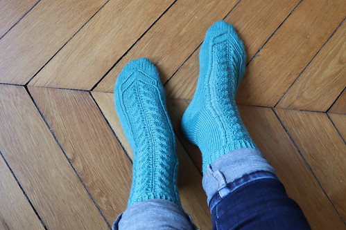 Toe-gether socks | by KnitSpirit