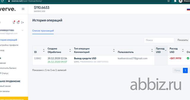 Сервис для заработка Everve | Заработать 25 000 рублей не выходя из дома без вложений - ТОП 20 сервисов  abbiz.ru