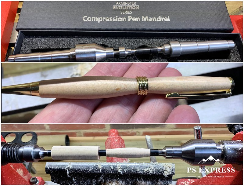 My first turned pen.