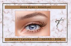 Tville -  Anna Eyes *Amethyst*