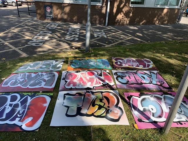 Fairfield High School - Graffiti