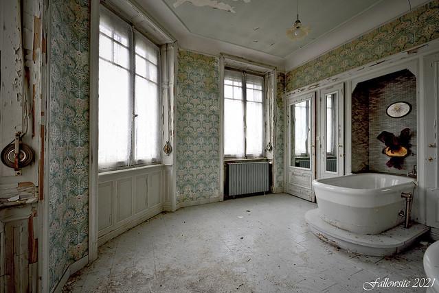 Le bain de Madame est prêt.
