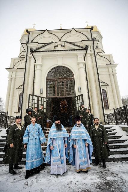 15 февраля 2021, В праздник Сретения Господня митрополит Кирилл совершил Литургию в Казанском соборе