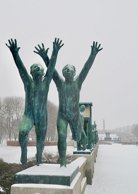 Vigelandsanlegget, Oslo