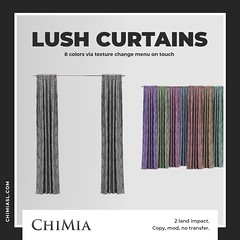 Lush Curtains for Mournful Monday by ChiMia
