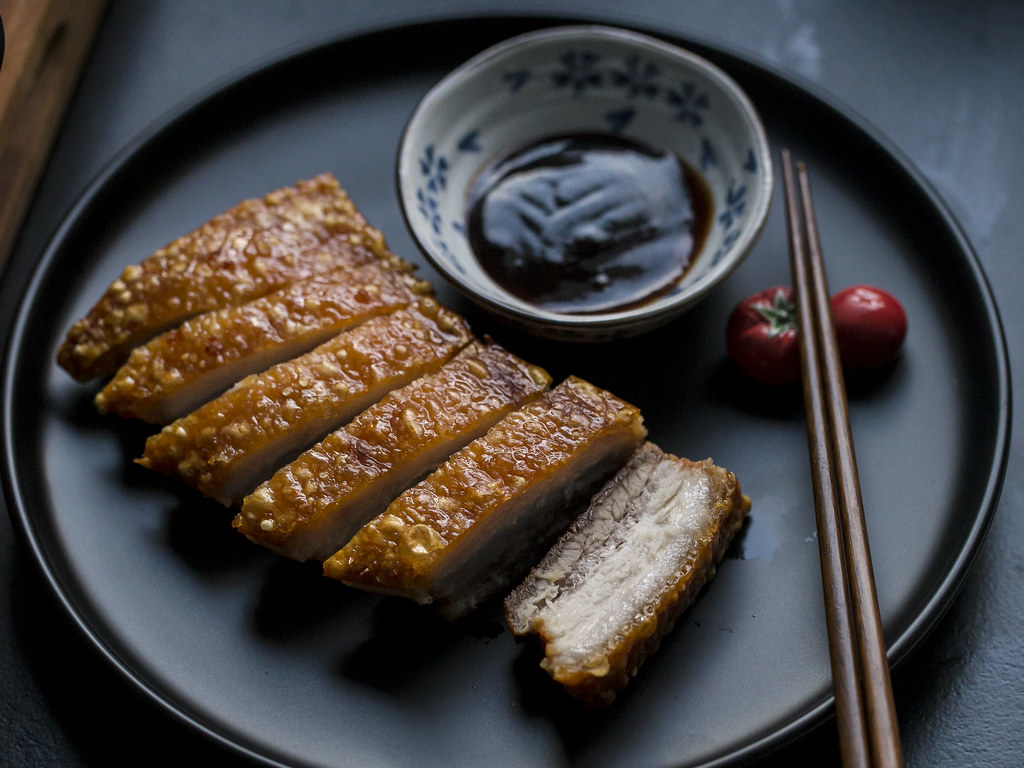 Air Fryer Roast Pork Belly