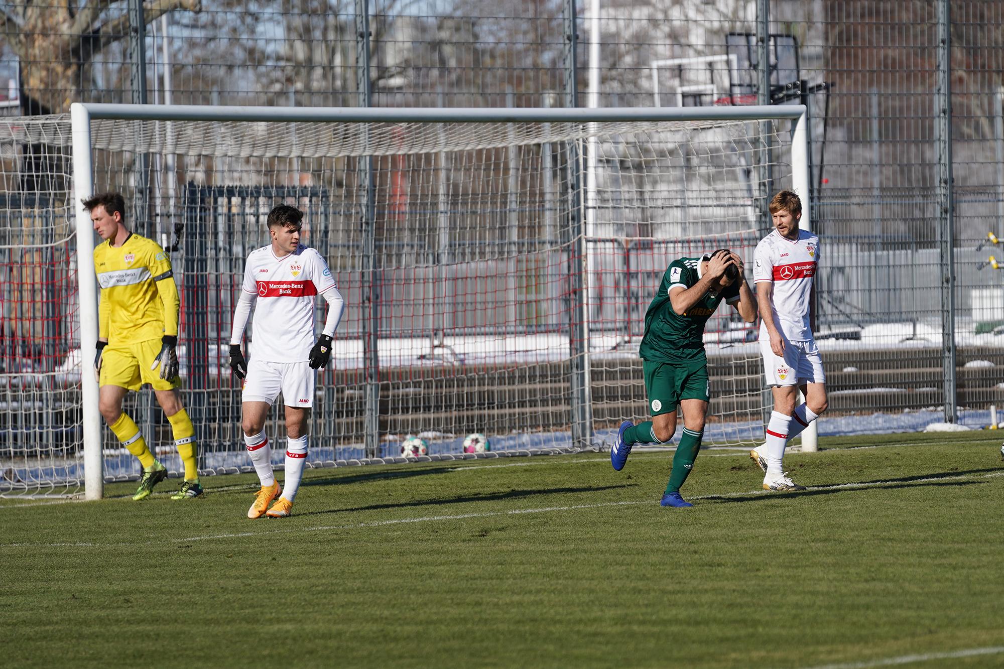 14.02.2021   Saison 2020/21   FC 08 Homburg   VfB Stuttgart II