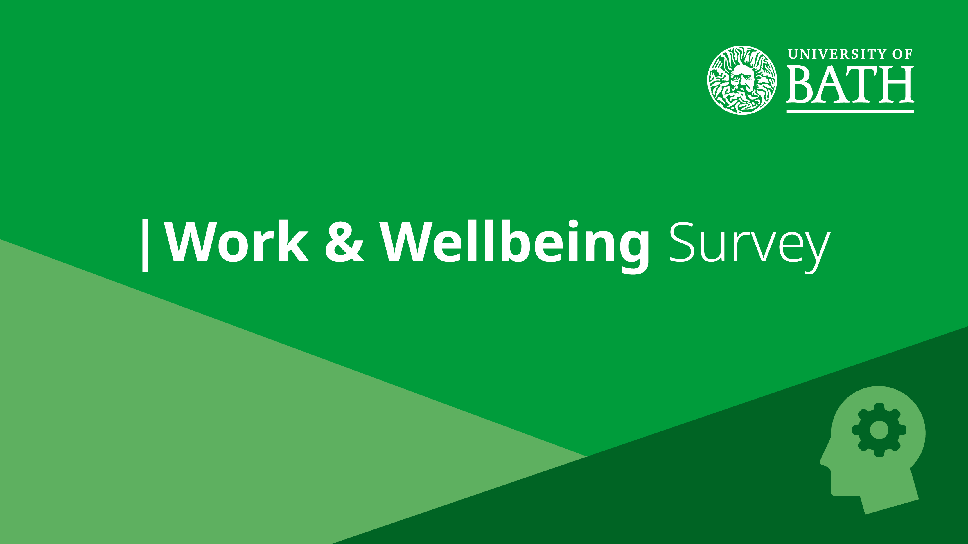 Staff Work and Wellbeing Survey green logo