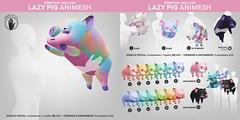 SEmotion Libellune Lazy Pig Animesh