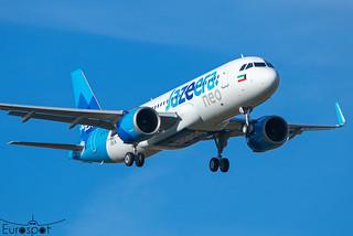 F-WWBI / 9K-CBI Airbus A320-251N Jazeera s/n 10516 * Toulouse Blagnac 2021 *