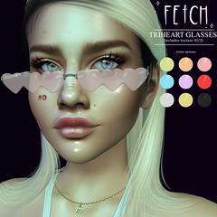 [Fetch] Triheart Glasses @ Cupid Inc.