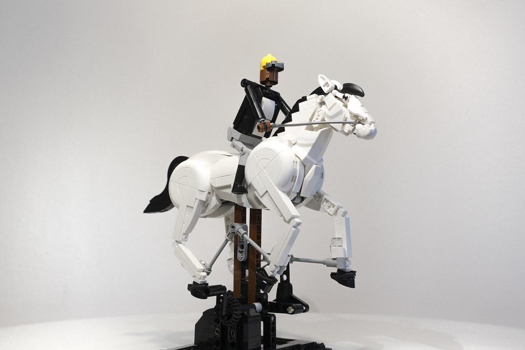 LEGO - A horse galloping