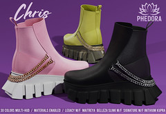 """Phedora.- """"Chris"""" UNISEX Chunky Sneakers available at Equal10 ♥"""