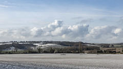 Rolling Hills and Cumulus clouds