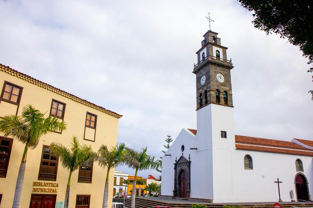 Iglesia de Los Remedios en Buenavista del Norte