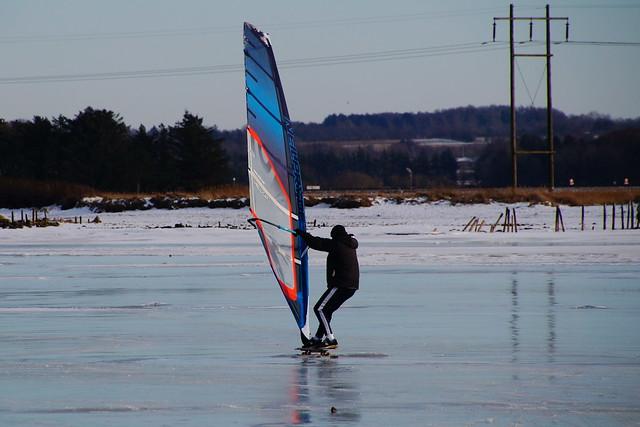 Speeding on ice