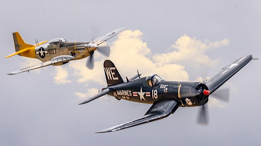 Corsair and Mustang