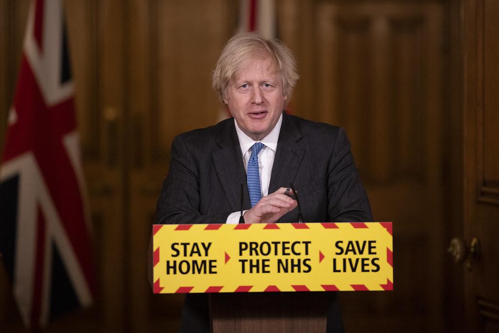 Boris Johnson Covid-19 Presser   15/02/2021. London, United …   Flickr