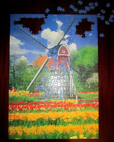 Jigsaw, a Dutch Scene