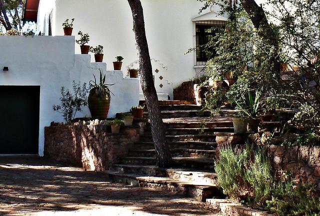 Escalera en villa de la Carrasca - Nàquera - València