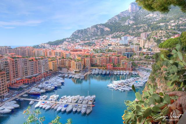 Fontvieille Port in Monaco