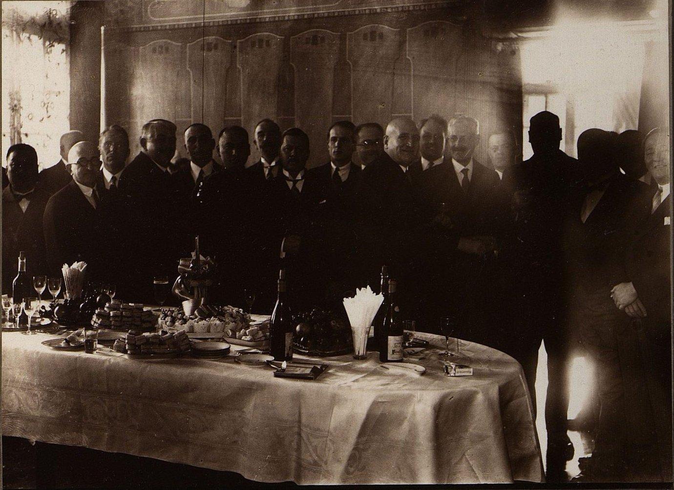 1931. Прием в Чехословацком консульстве. Харбин