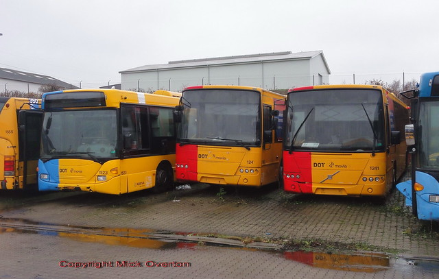 2006 Volvo B7RLE 1247 & 1241 drove here to Slangerup from Copenhagen and parked here April or May 2019 having been withdrawn from service in December 2017 - both towed away Jan 2021 and scrapped 11th or 12th Feb