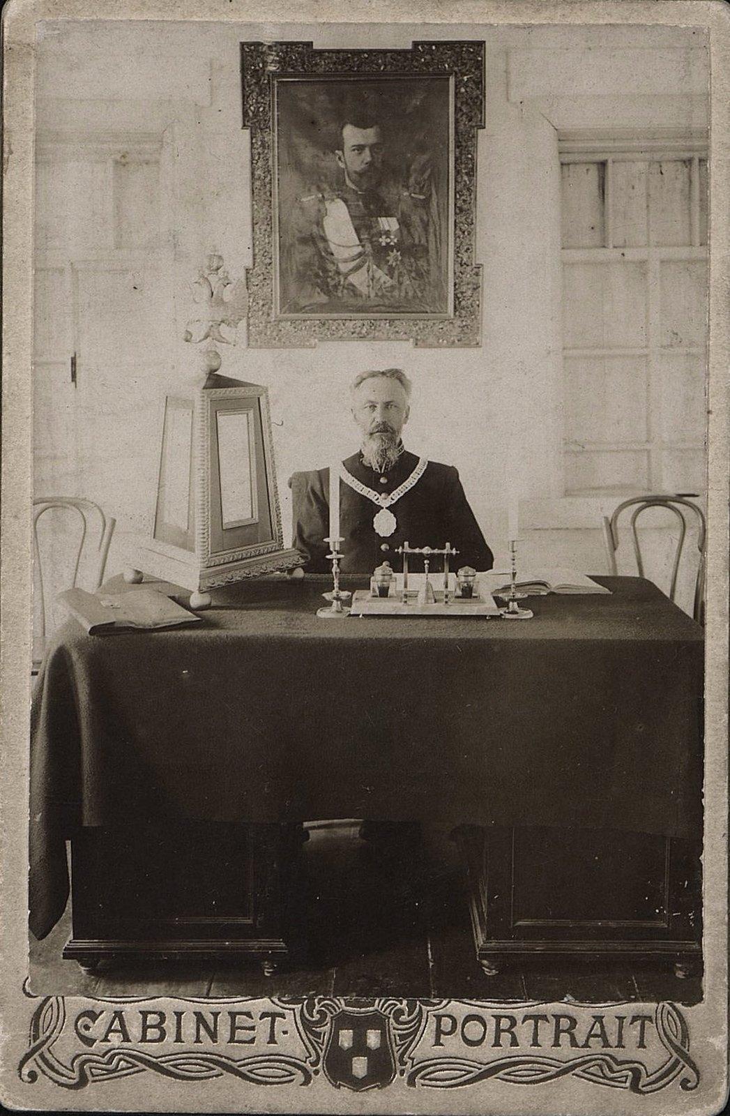 01. Обмолов Константин Григорьевич, городской голова Бодайбо. 1907