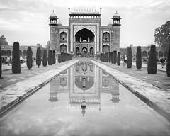 India / Agra: Taj Mahal main gateway