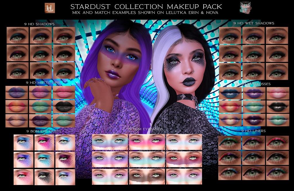 Voodoo – Stardust Makeup Pack