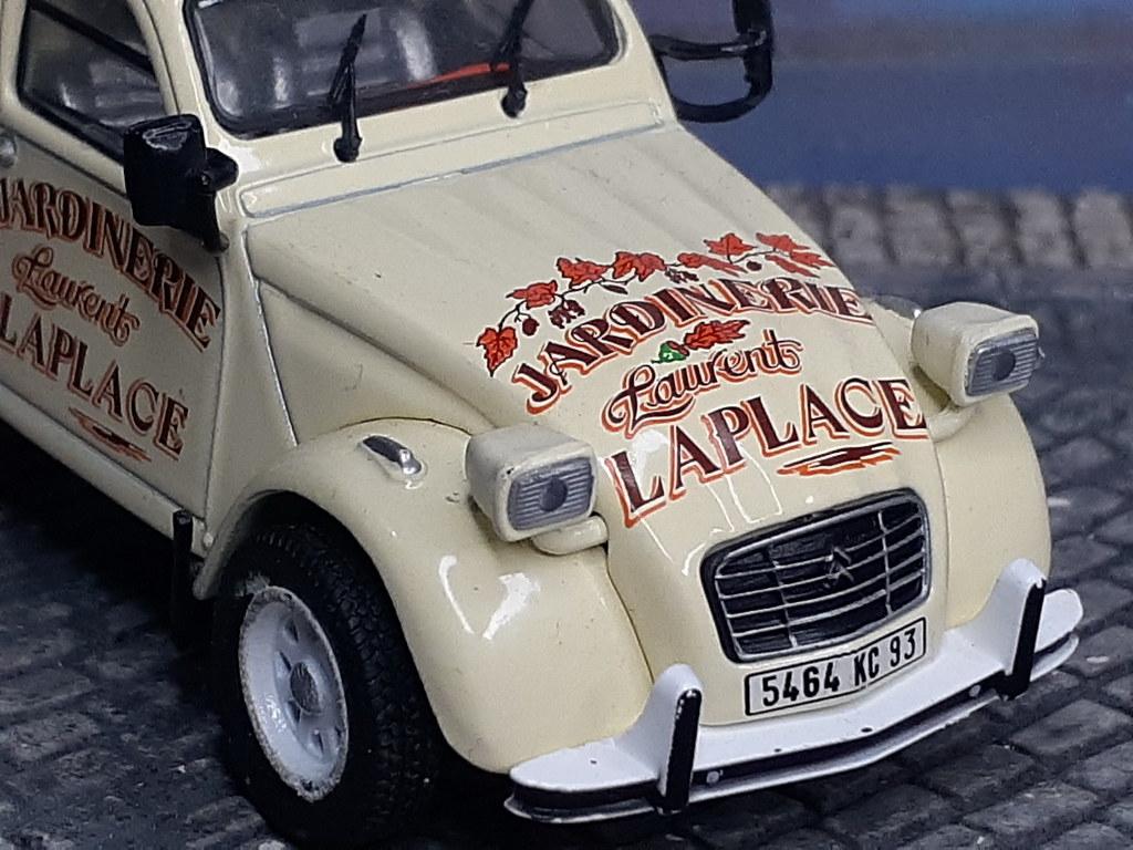Citroën 2CV Pick Up Benne – Jardinerie Laplace