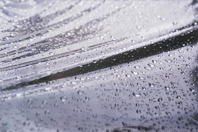 Plastic rain